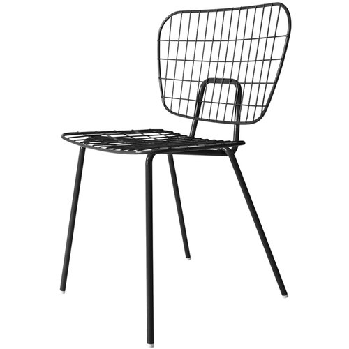 Menu WM String dining chair, black