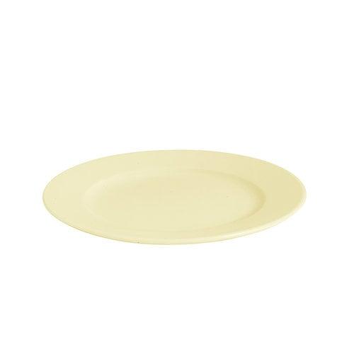 Hay Rainbow lautanen, pieni, vaaleankeltainen