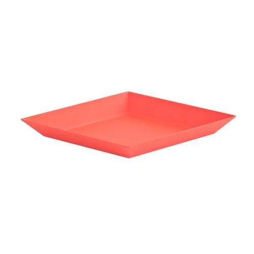 Hay Kaleido tray XS, red