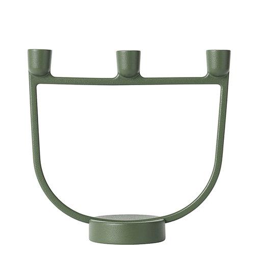 Muuto Open candelabra, green