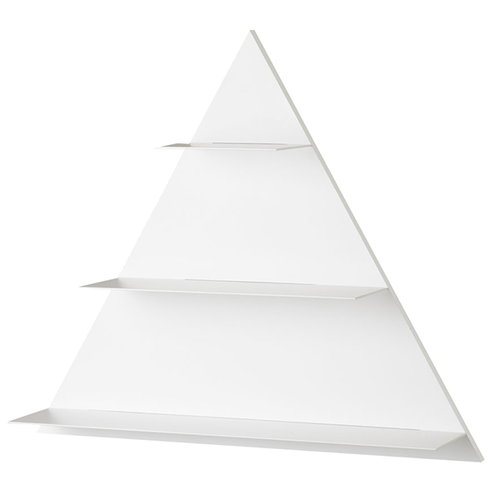 Design Letters White Paper Triangle shelf