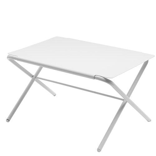 Skagerak Bow table, low, silver white