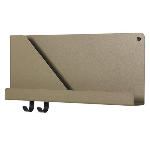 Muuto Folded shelf, olive, small