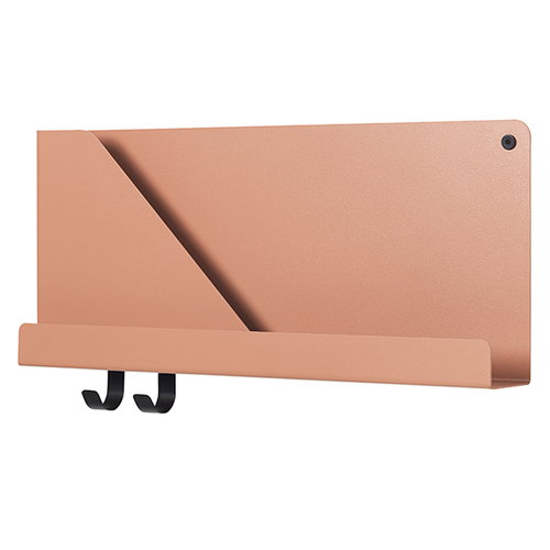 Muuto Folded hylly, vaalea terracotta, pieni