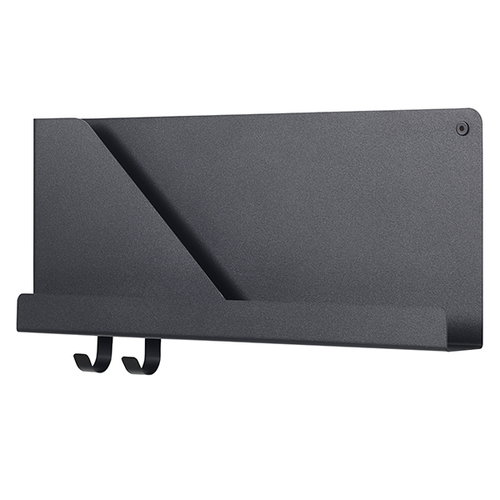 Muuto Folded shelf, black, small