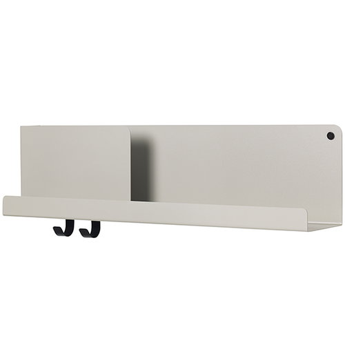 Muuto Folded shelf, grey, medium