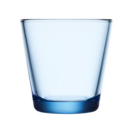 Iittala Kartio juomalasi 21 cl, vedensininen, 2 kpl