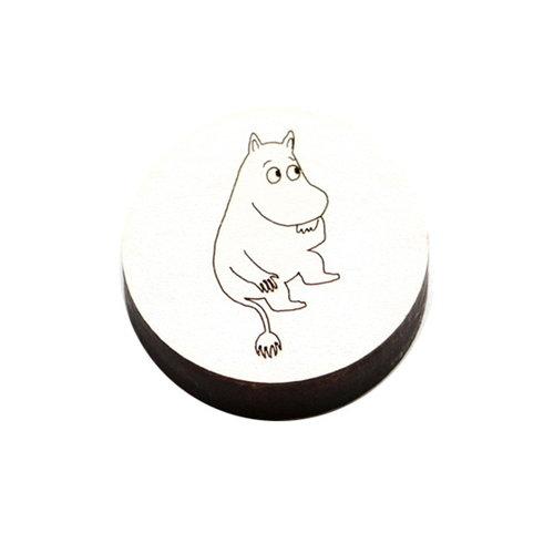 Kotonadesign Magneetti Muumipeikko, valkoinen