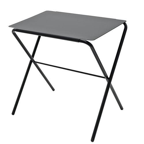 Skagerak Bow table, high, anthracite black