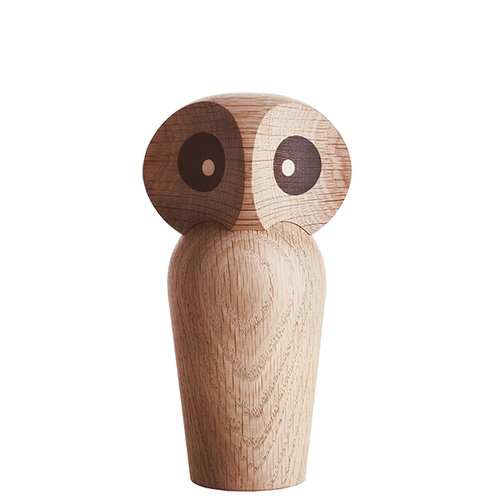 Architectmade Owl, small, natural oak