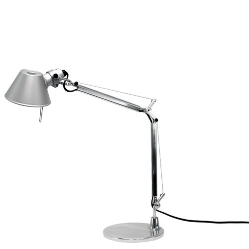 Artemide Tolomeo Micro LED table lamp, aluminium