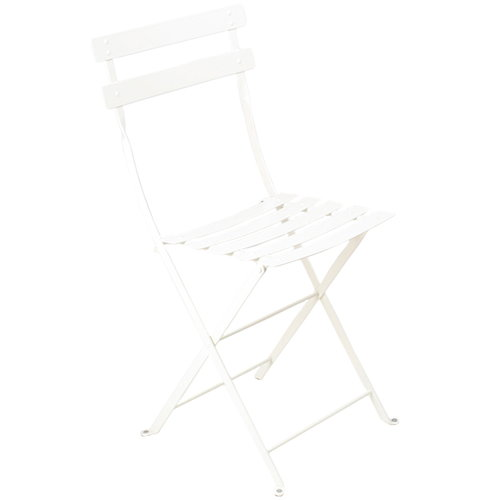 Fermob Bistro Metal tuoli, cotton white