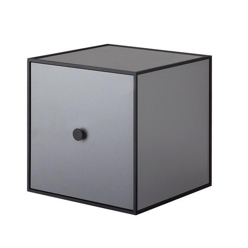 By Lassen Frame 28 box with door, dark grey