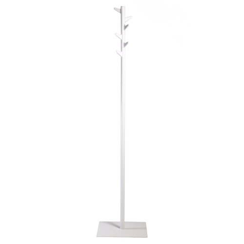 Inno Oka standing coat rack, white