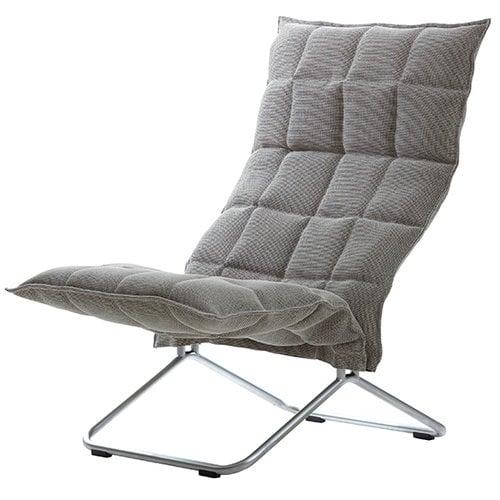 Woodnotes K tuoli, luonnonv�ri - musta, kapea