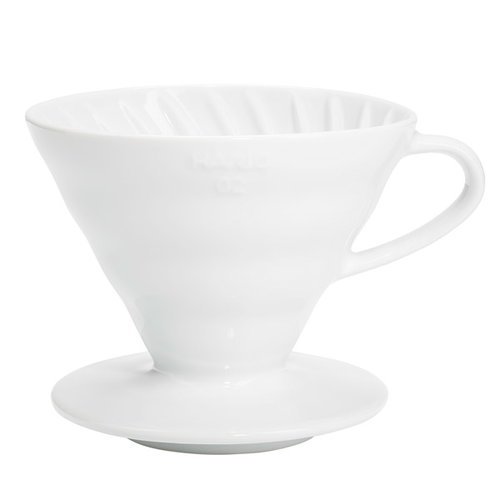 Hario Hario V60 coffee dripper size 02, white