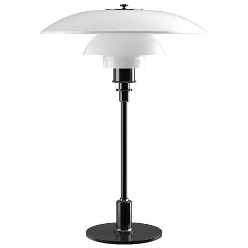 Louis Poulsen PH 3 1/2 - 2 1/2 table lamp, metallised black, opal glass