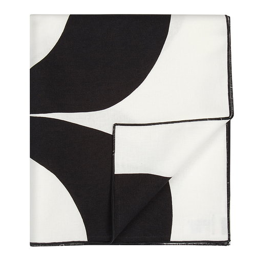 Marimekko Kaivo interior cloth, off white-dark grey
