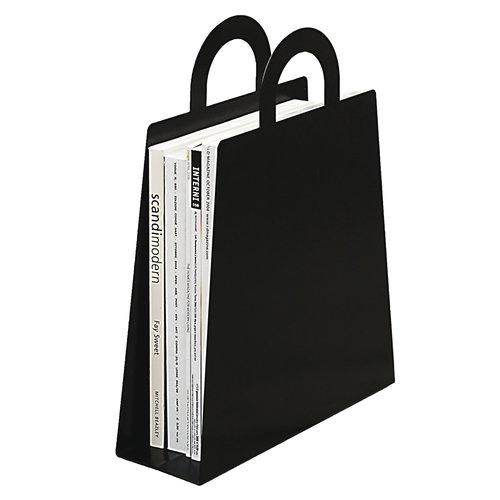 Maze Magbag magazine rack, black