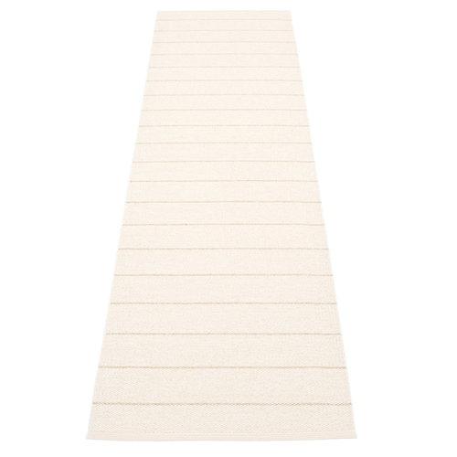 Pappelina Carl matto 70 x 270 cm, vanilla - white