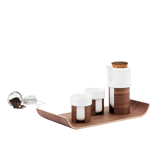 Tonfisk Design Set da t� Warm, noce