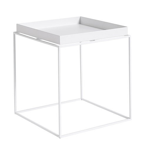 hay tray table medium square white finnish design shop. Black Bedroom Furniture Sets. Home Design Ideas