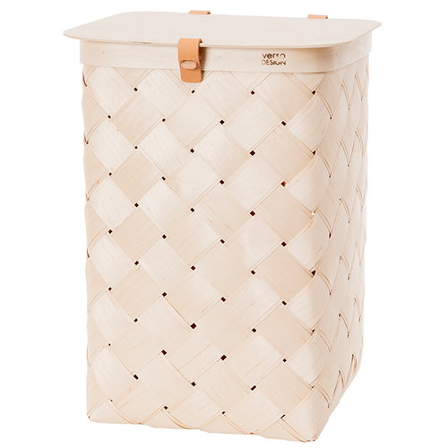 Verso Design Lastu basket with lid, XL