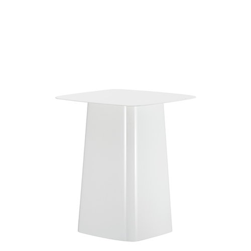 Vitra Metal Side Table, S, white