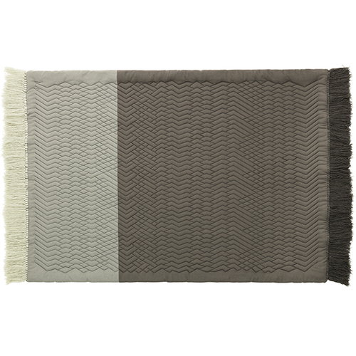 Normann Copenhagen Trace rug, grey