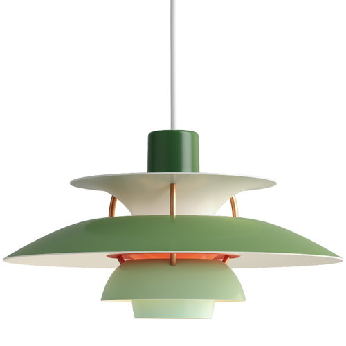 Louis Poulsen PH 5 Mini pendant, green