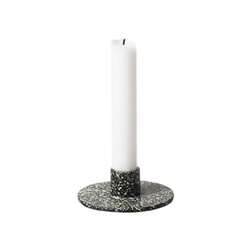 Ferm Living Cast Iron candleholder, spotted