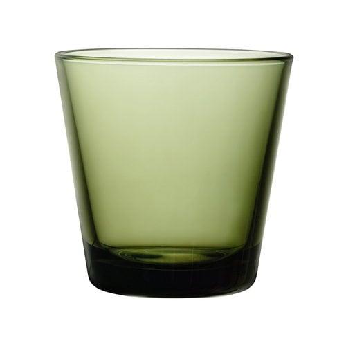 Iittala Kartio juomalasi 21 cl, sammaleenvihreä, 2 kpl