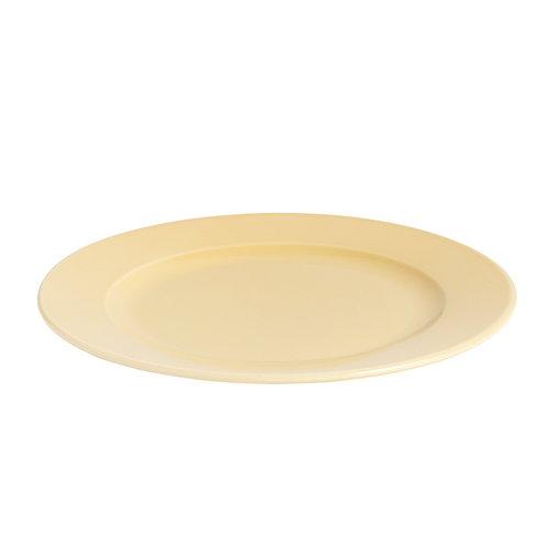Hay Rainbow plate, medium, warm yellow