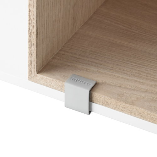 Muuto Mini Stacked clip, 5 pcs, grey
