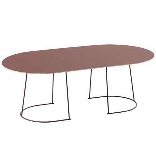 Muuto Airy coffee table, large, plum