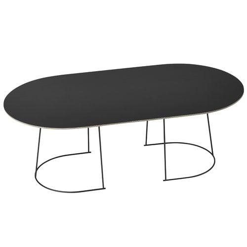 Muuto Airy coffee table, large, black