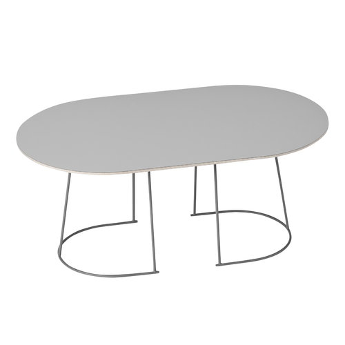 Muuto Airy coffee table, medium, grey