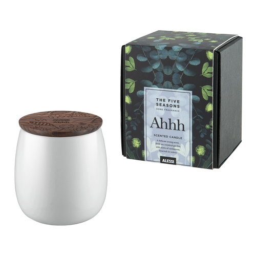 Alessi The Five Seasons scented candle, small, Ahhh