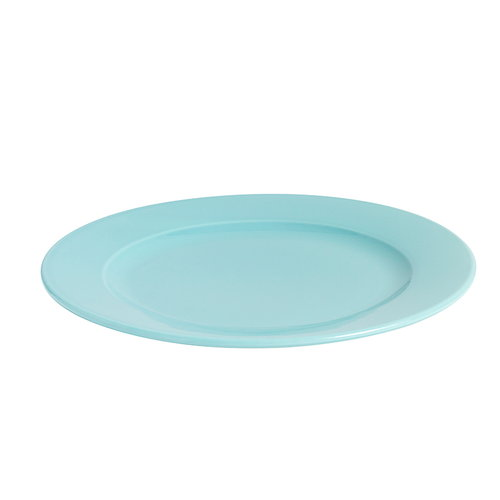 Hay Rainbow plate, medium, turquoise