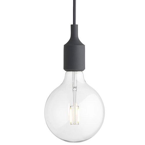 Muuto E27 LED valaisin, tummanharmaa