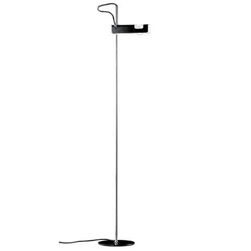 Oluce Spider 3319 floor lamp, black