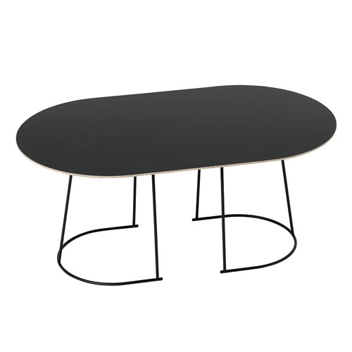 Muuto Airy coffee table, medium, black
