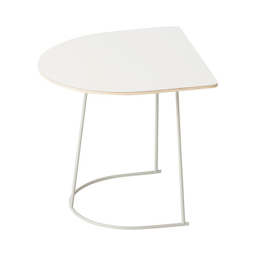 Muuto Airy coffee table, half size, off-white