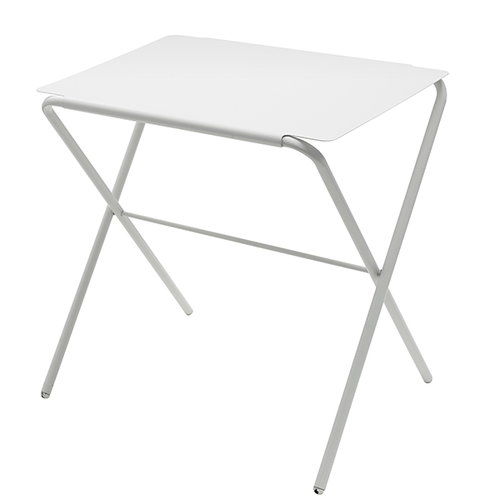 Skagerak Bow table, high, silver white