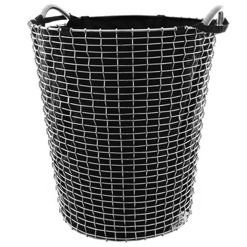 Korbo Laundry bag for wire basket Classic 80, black
