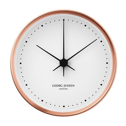 Georg Jensen HK Clock copper, medium