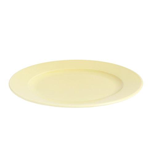 Hay Rainbow plate, medium, light yellow