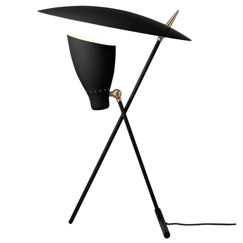 Warm Nordic Silhouette table lamp, black