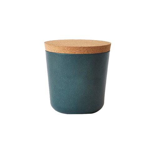 Ekobo BIOBU Gusto storage jar, S, blue abyss