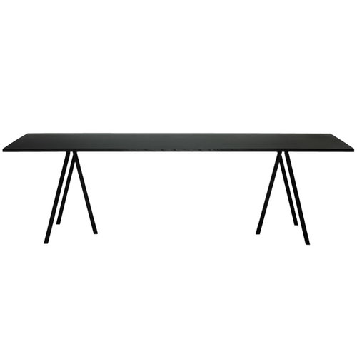 Hay Loop Stand table 200 cm, black